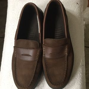 Mens Bass leather shoes